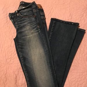 New never worn skinny kick AE jeans